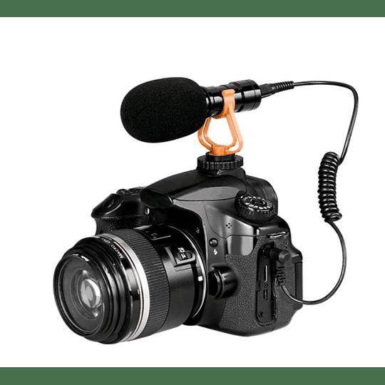 Microfono condensador para camara Philco CM021
