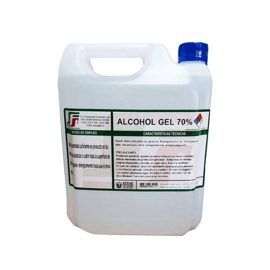 Bidon 5 litros Alcohol gel 70%