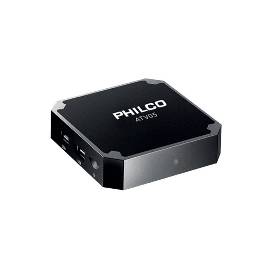 Mini TV Box Android Quad Core 9 1G Ram 8G Rom 4K Philco ATV05