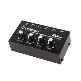 Amplificador de audifonos Alctron HA4Plus