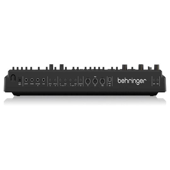 Sintetizador sampler analogo Behringer MS1BK