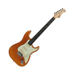 Guitarra electrica Tagima TG500 MGY D/MG Metallic Gold Yellow Electric