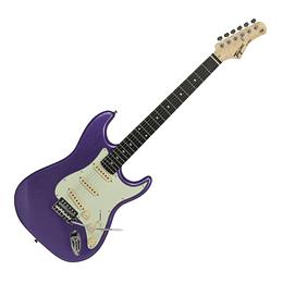 Guitarra electrica Tagima TG500 MPP D/MG Metallic Purple Electric