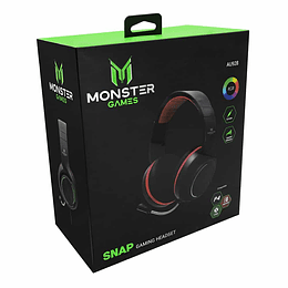 Audifono gamer Snap PC, Smartphones,PS4, xbox one, Switch, Monster
