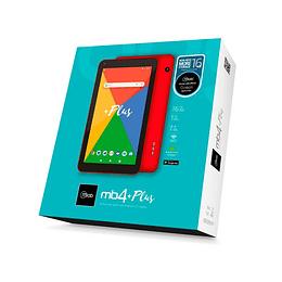 """Tablet MLAB 8760 MB4 Plus 16GB 7"""" roja"""