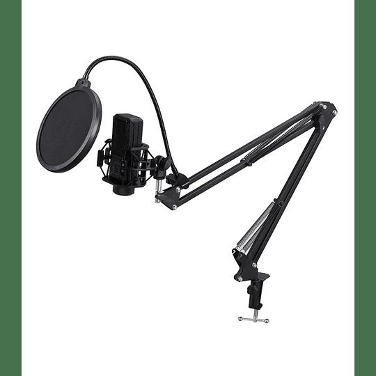 Microfono condensador 26plckiy70  mas accesorios