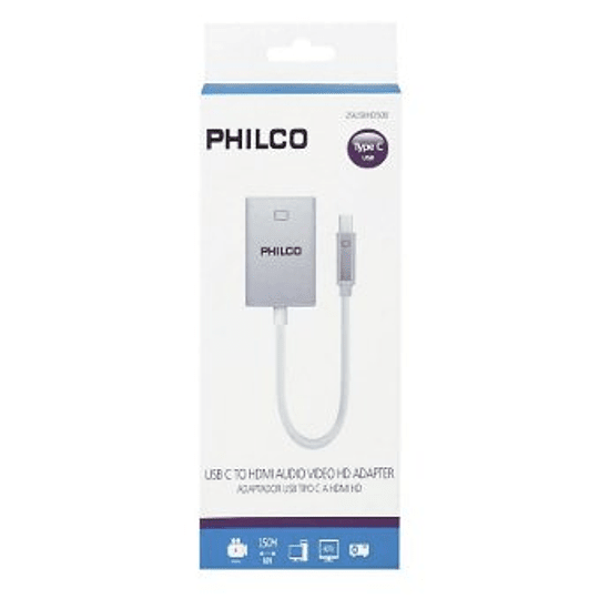 Adaptador display usb-c a hdmi philco 29USBHD500