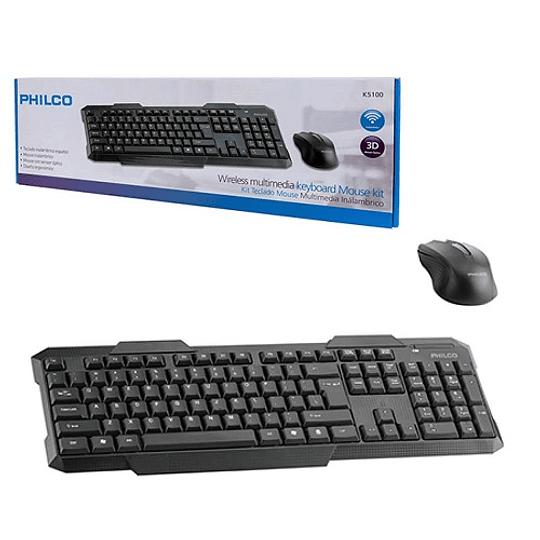 Kit combo teclado mas mouse inalámbrico 29PLCK5100