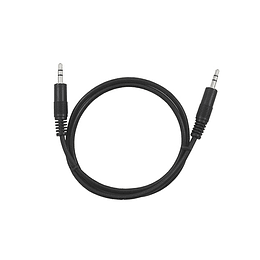Cable miniplug stereo a miniplug stereo 0,7 mts