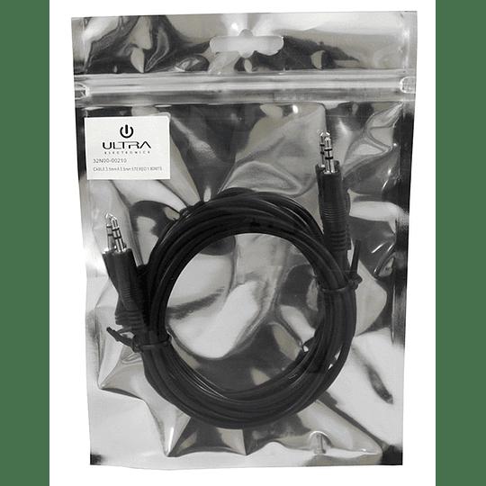Cable miniplug stereo a miniplug stereo 1,8 mts