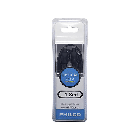 Cable de audio optico 1.8 mts