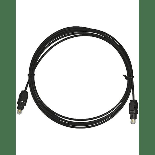 Cable de audio optico 3 mts