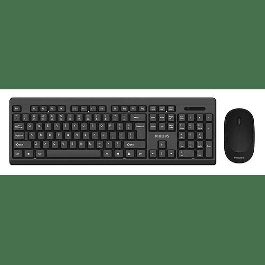 Combo teclado mouse inalambrico spt6324 Philips