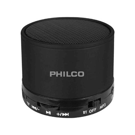 Parlante portatil bluetooth Philco P295 negro