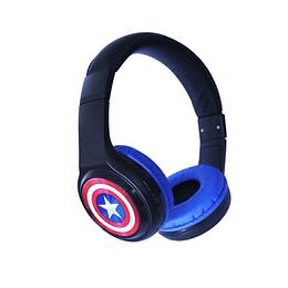 Audifonos bluetooth Marvel Capitan America