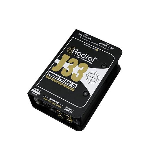 Caja directa / preamplificador Radial J33
