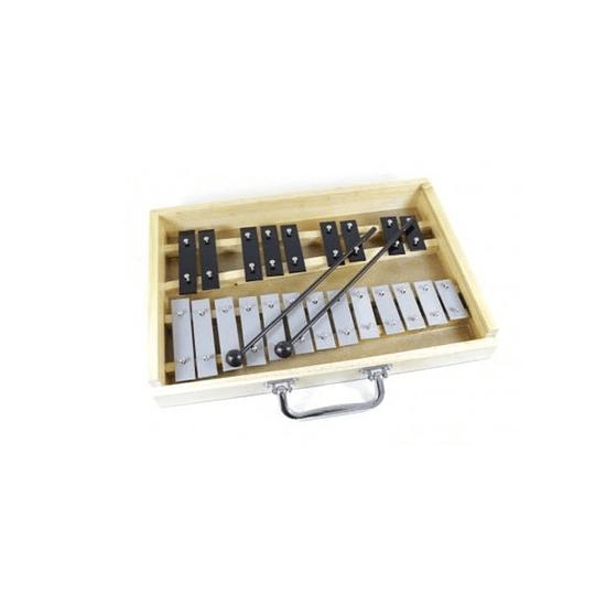 Metalofono 22 notas cromatico Mitello EMS22