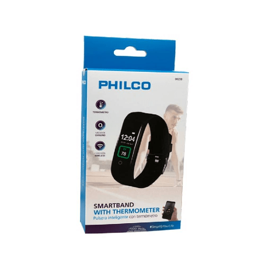 Smartband BT medidor temperatura Philco B023B