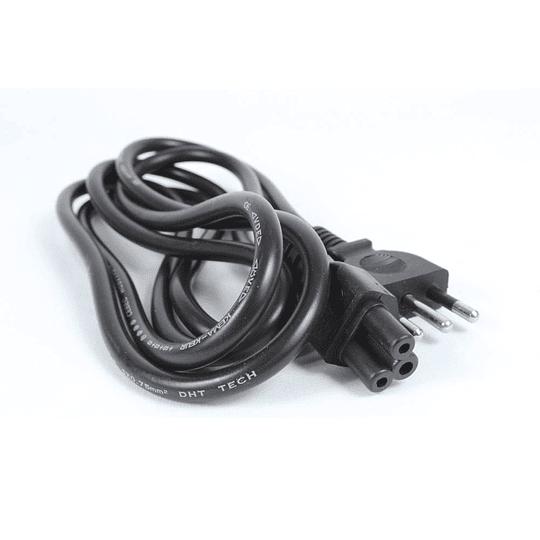Cable de poder 220V tipo Trebol