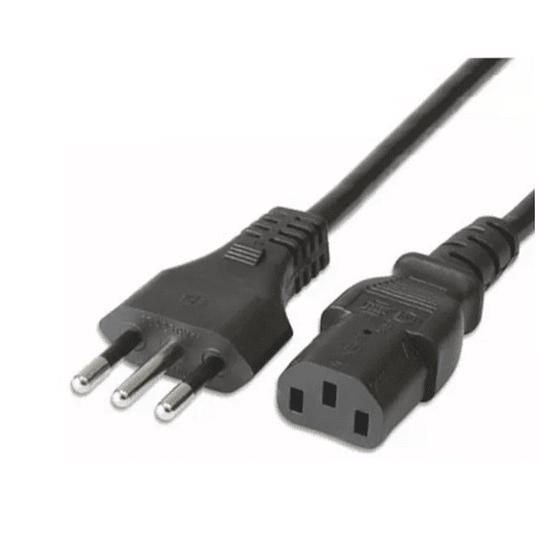 Cable de poder 220V 1,8 mts IEC13