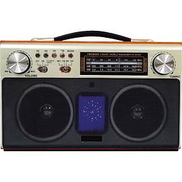 Radio Vintage Bluetooth Recargable Audiopro Ap02056