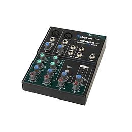Mezclador interface Usb 4 canales Alctron MX4USB
