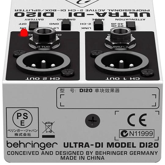 Caja Directa DI20 Behringer