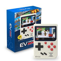 Consola Ev3 Retro Game De Bolsillo 129 Juegos