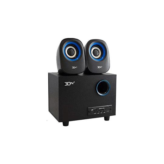 Subwoofer 2.1 Atomix BT/FM/SD/USB 3DFX
