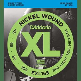 Cuerdas para bajo Daddario Exl165
