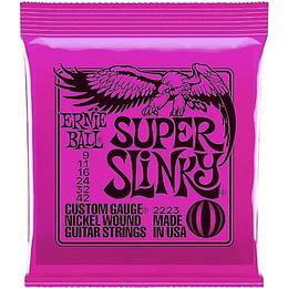 Cuerdas guitarra electrica 2223 Ernie Ball super slinky