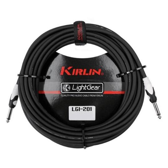 Cable Plug Kirlin Lgi201bk 3 Mts