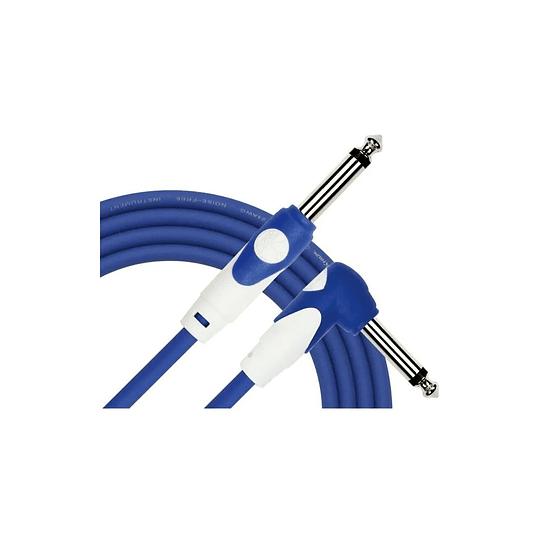 Cable plug 3 mts azul Kirlin LGI202BL