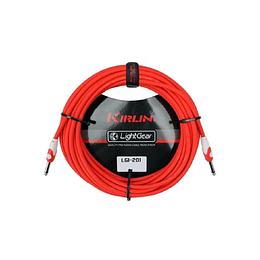 Cable plug 3 mts rojo Kirlin LGI201RD
