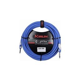 Cable plug 3 mts azul  Kirlin LGI201BL