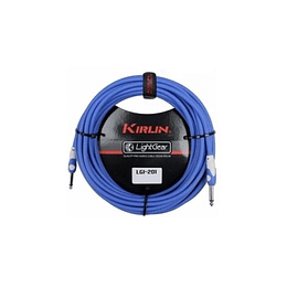 Cable plug 3 mts azul  Kirlin LGI201BL