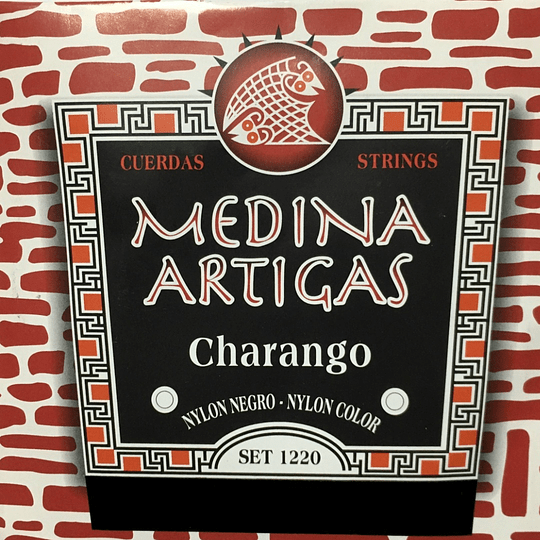 Cuerdas para charango 1220 Medina Artigas