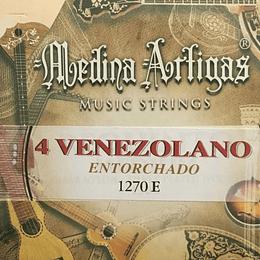 Cuerdas cuatro venezolano 1270E Medina Artigas