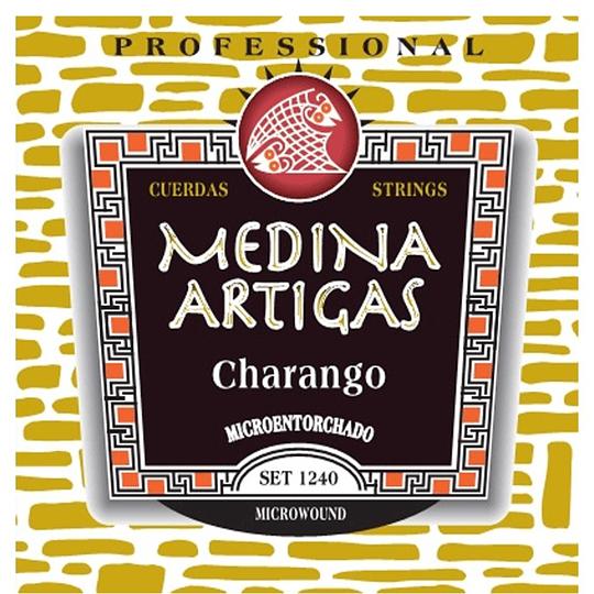Cuerdas charango 1240 Medina Artigas