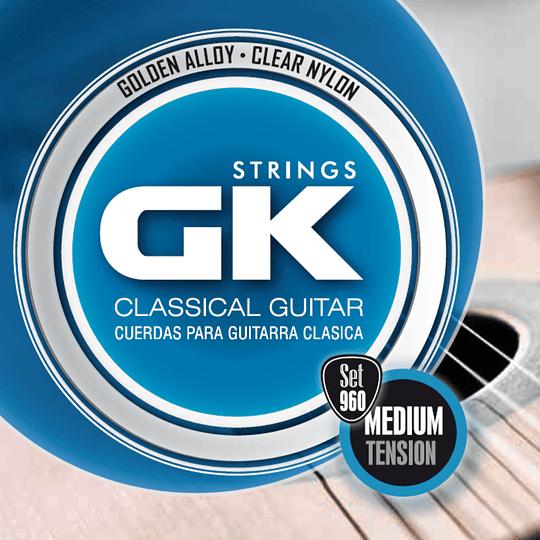 Cuerdas para guiarra clasica 960 Medina Artigas