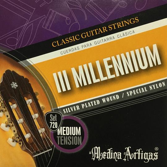 Cuerdas para guitarras nylon 720 Medina Artigas