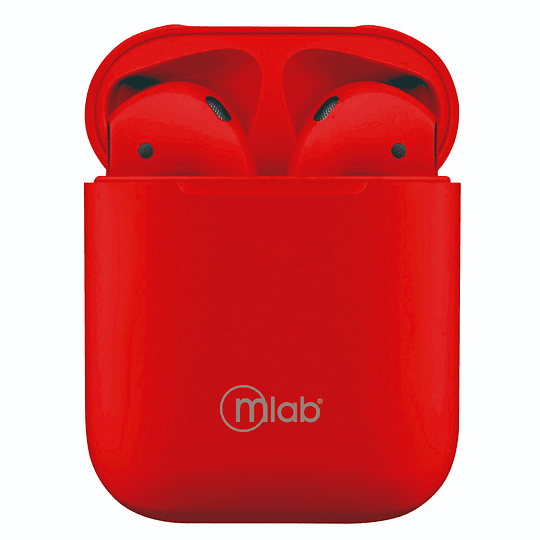 Audifino bluetooth touch rojo 8723 Mlab