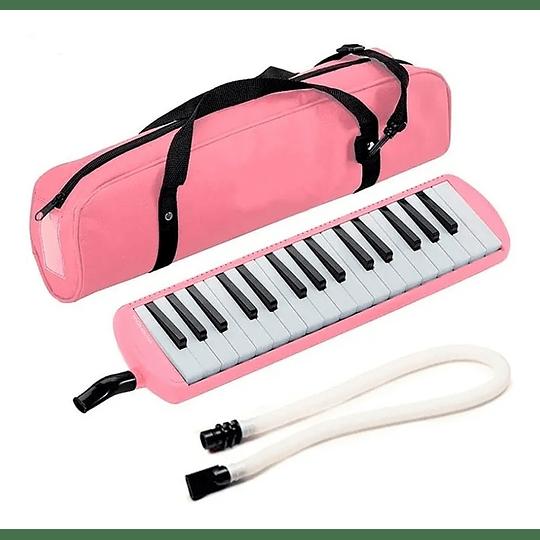 Melodica rosada 32 notas Fussen