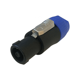 Accuracy Pro Audio SPN001N4P Conector Speakon 4 Polos