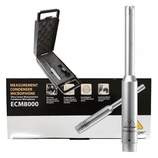 Ecm8000 Behringer Micrófono De Medición