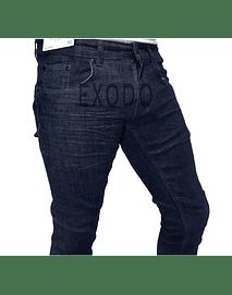 Jeans azul oscuro , elasticado, slim fit