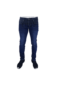 Jeans azul  , elasticado, slim fit