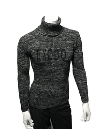 beatle sweater hombre negro difuminado