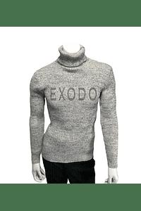 beatle sweater hombre gris claro