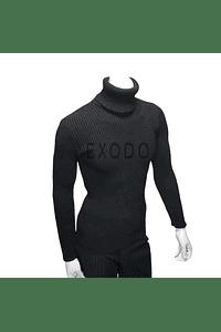beatle sweater hombre negro